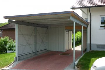 carport klassisch carport freitragend medam gmbh. Black Bedroom Furniture Sets. Home Design Ideas