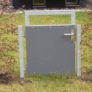 Gartentüre Gartentor Metall verzinkt