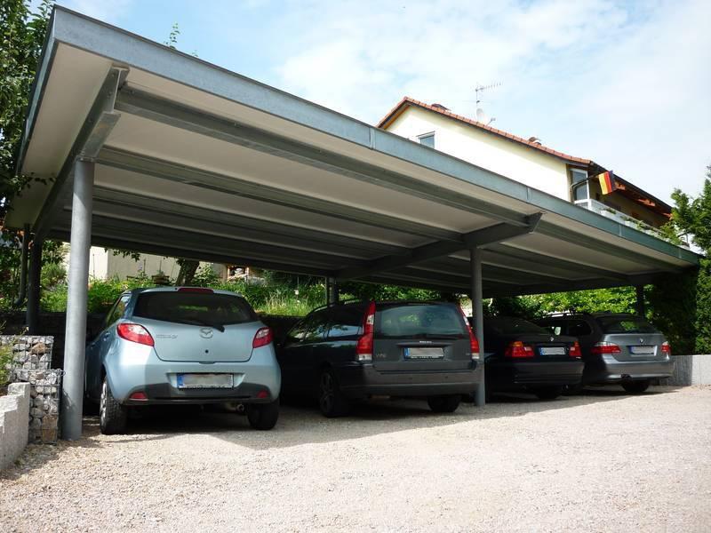 begrüntes Carport | Medam GmbH